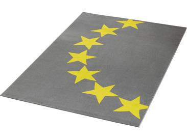 Hanse Home Teppich »Sterne 2«, 140x200 cm, 9 mm Gesamthöhe, grau