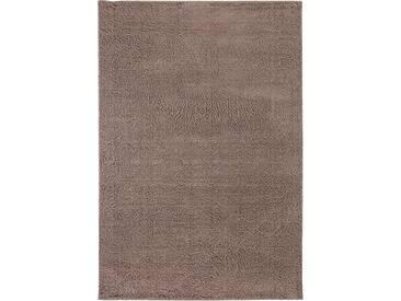 Andiamo Hochflor-Teppich »Cala Bona«, 80x150 cm, 26 mm Gesamthöhe, braun