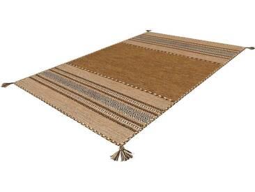 Arte Espina Teppich »Navarro«, 70x130 cm, 8 mm Gesamthöhe, braun