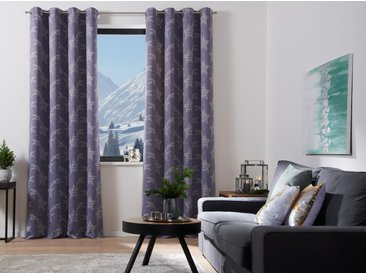 My Home Selection Vorhang »Sternschnuppe«, H/B 265/140 cm, blickdicht, grau