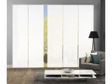 Home Wohnideen Schiebegardine »ROMA«, H/B 245/60 cm, weiß, blickdichter Stoff