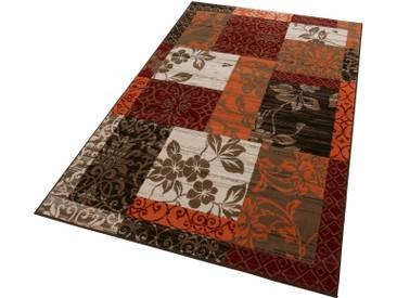 Hanse Home Teppich »Paliseu«, 190x280 cm, besonders pflegeleicht, 7 mm Gesamthöhe, orange
