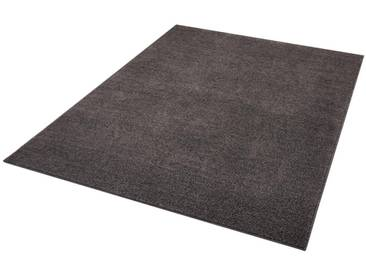Hanse Home Teppich »Pure 100«, 80x150 cm, 13 mm Gesamthöhe, grau
