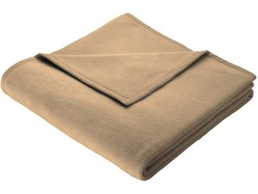 Biederlack Wohndecke »Thermosoft Uni«, 150x200 cm, beige