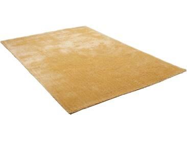 Theko® Hochflor-Teppich »Alessandro«, 80x150 cm, 25 mm Gesamthöhe, gold