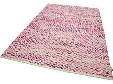 Tom Tailor Teppich »Diamond«, 160x230 cm, 8 mm Gesamthöhe, rot