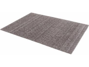 Schöner Wohnen-kollektion Teppich »Victoria Deluxe«, 90x160 cm, 18 mm Gesamthöhe, silber