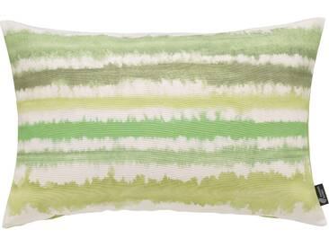 Emotion Textiles Kissenbezug »Aquarellstreifen«, grün