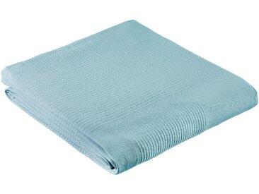 My Home Tagesdecke »Mira«, 250x250 cm, aus 100% Baumwolle, blau