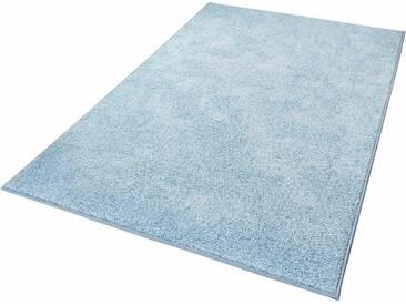 Hanse Home Teppich »Pure 100«, 160x240 cm, 13 mm Gesamthöhe, blau