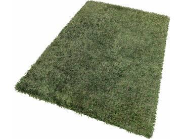 Theko® Hochflor-Teppich »Girly«, 65x135 cm, grün