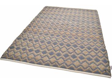 Tom Tailor Teppich »Geometric«, 160x230 cm, 7 mm Gesamthöhe, grau