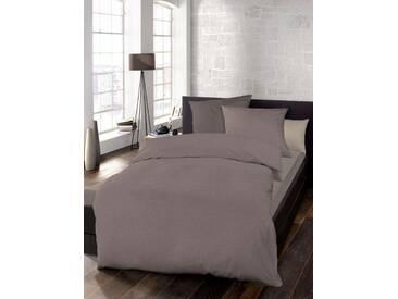 Schlafgut Bettwäsche »Select«, 1x 240x220 cm, waschbar, braun, aus 100% Baumwolle