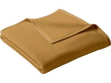 Biederlack Wohndecke »Uno Cotton«, 100x150 cm, beige