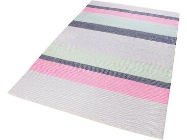 Esprit Teppich  »Makon Kelim«, 160x230 cm, 5 mm Gesamthöhe, rosa