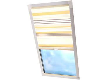 Liedeco Dachfensterrollo »Dekor«, H/B 130/116 cm, beige
