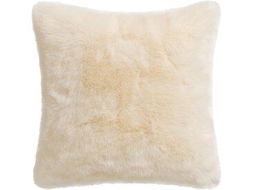 Gözze Fellkissen »Eisbär«, 50x50 cm, weiß