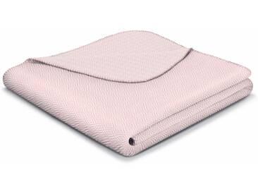 Biederlack Wohndecke »Contrast Style«, 150x200 cm, rosa