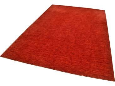 Theko® Teppich »Haltu Uni«, 195x300 cm, 17 mm Gesamthöhe, rot