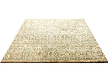 Weconhome Teppich  »Contemporary Kelim«, 133x200 cm, schmutzabweisend, 8,5 mm Gesamthöhe, beige