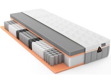 Schlaraffia Taschenfederkernmatratze »GELTEX® Quantum Touch 260 TFK«, 1x 180x200 cm, weiß, 81-100 kg