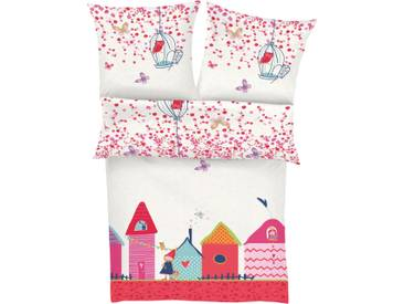 S.oliver Red Label Junior Kinderbettwäsche »Village«, 80x80 cm, aus 100% Baumwolle, bunt