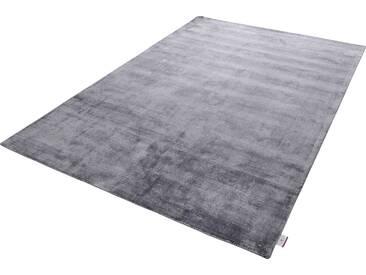 Tom Tailor Teppich »Shine uni«, 65x135 cm, 8 mm Gesamthöhe, grau