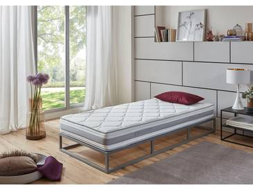 Sun Garden Komfortschaummatratze »P1650 ComfortPur«, 1x 140x200 cm, weiß, 81-100 kg