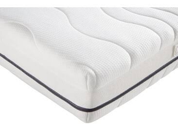 F.a.n. Frankenstolz Taschenfederkernmatratzen »ProVita Luxus Med 24 T«, 1x 90x190 cm, weiß, 101-120 kg