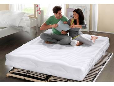 My Home Komfortschaummatratze »Übergrößen«, 180x200 cm, ideal für Allergiker, weiß, 101-120 kg