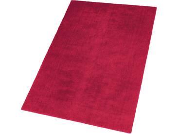 Schöner Wohnen-kollektion Teppich »Victoria«, 90x160 cm, 14 mm Gesamthöhe, rot