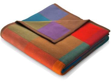 Biederlack Wohndecke »Colormix«, 150x200 cm, aus reiner Baumwolle, bunt