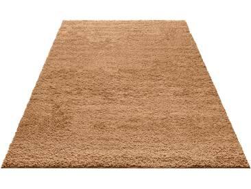 My Home Hochflor-Teppich »Bodrum«, 200x290 cm, 30 mm Gesamthöhe, beige