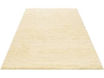 My Home Hochflor-Teppich »Bodrum«, 160x230 cm, 30 mm Gesamthöhe, beige