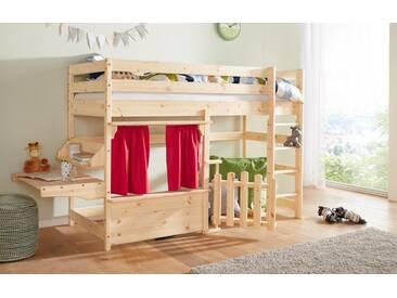 Etagenbett Buche Massiv Geölt : Kinderbett etagenbett buche massiv vollholz natur