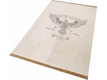 Roberto Geissini Teppich »Eagle«, (L/B 170/120 cm), schmutzabweisend, 10 mm Gesamthöhe, grau