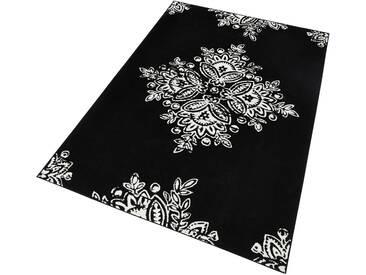 Hanse Home Teppich »Blossom«, 200x290 cm, 9 mm Gesamthöhe, schwarz