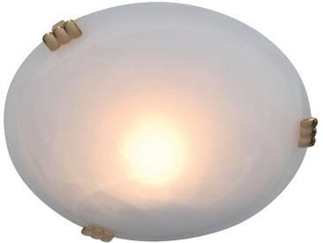 Näve LED Deckenleuchte, inklusive LED-Leuchtmittel, weiß