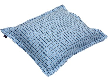 Gant Kissenbezug »Flannel East Check«, 1x 80x40 cm, blau