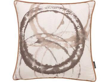 Emotion Textiles Kissenhülle »Aquarellkreise«, gelb