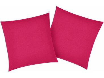 My Home Kissenbezüge###Kissenbezug »Luisa«, 2x 80x80 cm, rot