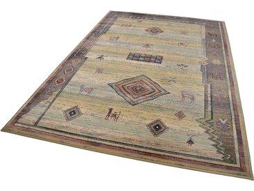 Theko® Orientteppich »Gabiro 002«, 160x230 cm, 10 mm Gesamthöhe, beige