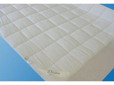 Dreams Matratzenauflage  »Unterbett Superflausch«, 1x 140x200 cm, Allergiker geeignet, weiß
