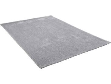 Theko® Hochflor-Teppich »Alessandro«, 80x150 cm, 25 mm Gesamthöhe, grau