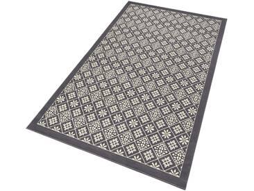 Hanse Home Teppich »Tile«, 120x170 cm, 9 mm Gesamthöhe, grau