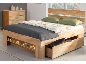 Home Affaire Stauraum-Bett », in 3 Größen«, 140/200 cm, beige
