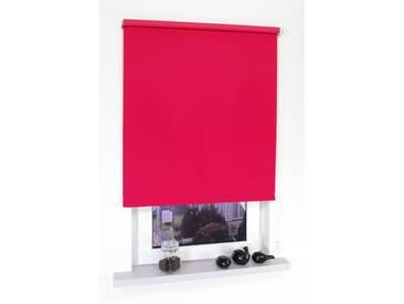 Liedeco Seitenzugrollo »Uni«, H/B 180/92 cm, rot