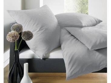 Schlafgut Bettwäsche »Leni«, 135x200 cm, Hpflegeleicht, grau, aus 100% Baumwolle