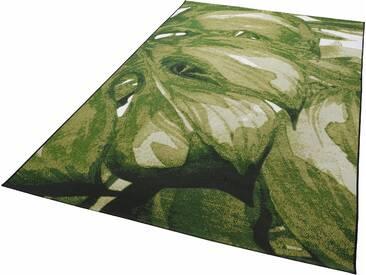 Tom Tailor Teppich »Garden Palm«, 123x180 cm, 30 mm Gesamthöhe, grün