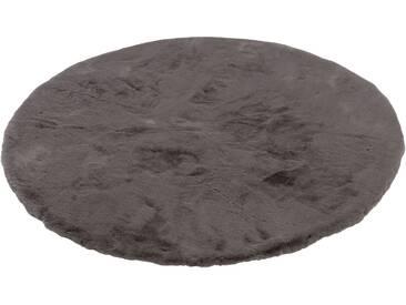 Schöner Wohnen-kollektion Teppich »Tender«, Ø 120 cm, 26 mm Gesamthöhe, grau